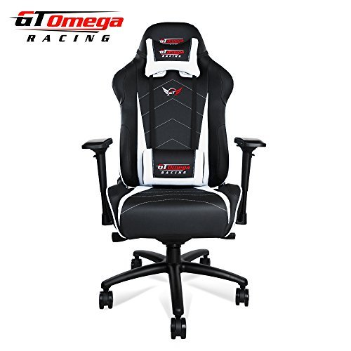 GT Omega Pro XL Silla de Oficina de Piel, diseño Deportivo ...