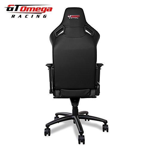 GT Omega Deporte Asiento de Silla de Oficina de Piel Deportiva, para G